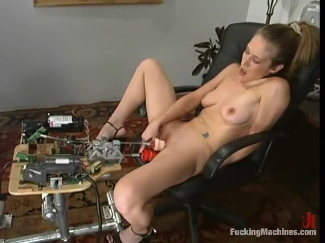 Jade Marxxx in Fuckingmachines Video