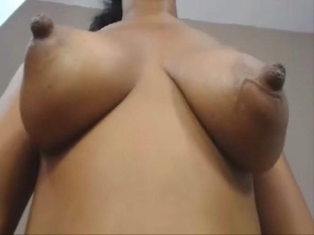 Real natural black ebony colombian tits