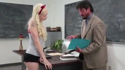 After class fuck lesson