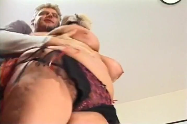 Silly Slut Smothers Her Man With Her Big Old Tits