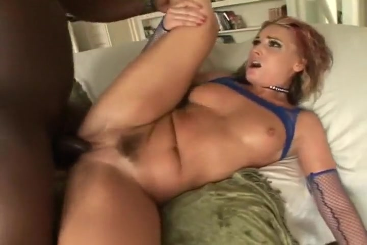 Flower Tucci Gets A Big Black Rod Up Her Ass