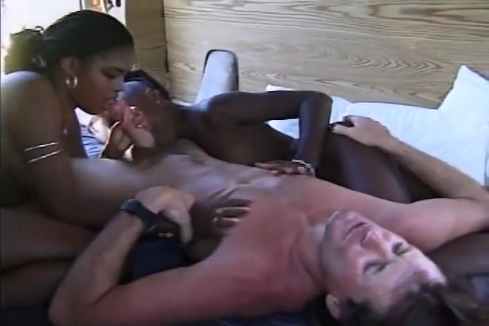 Chocolate And Jazz Takes Cock From Dave Hardman