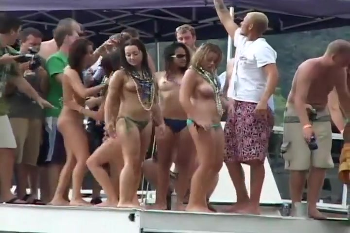 Party Babes Getting Wild And Naked