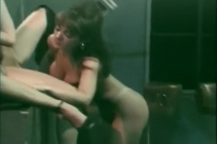 Three Sexy Woman Have Lesbian Sex In This Retro Porn