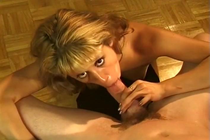 Blonde Sucks Dick And Swallows A Cumshot