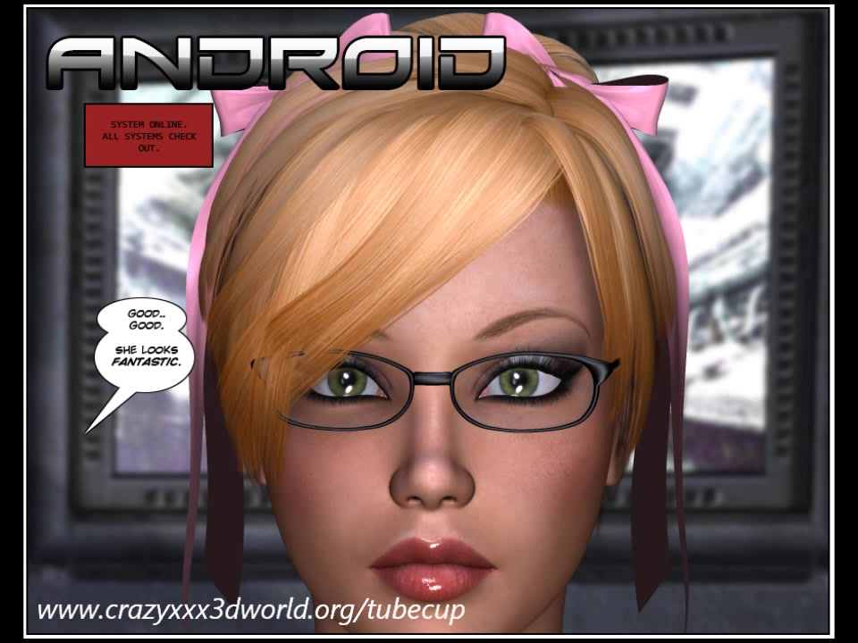 3D Comic: Android. Episode 1