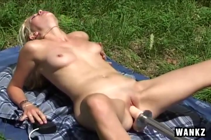 Nancy Fucks Her Own Hole With Large Toy