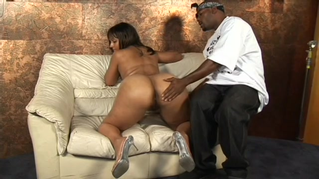 Fantastic Big Black Ass Gets Creamed On