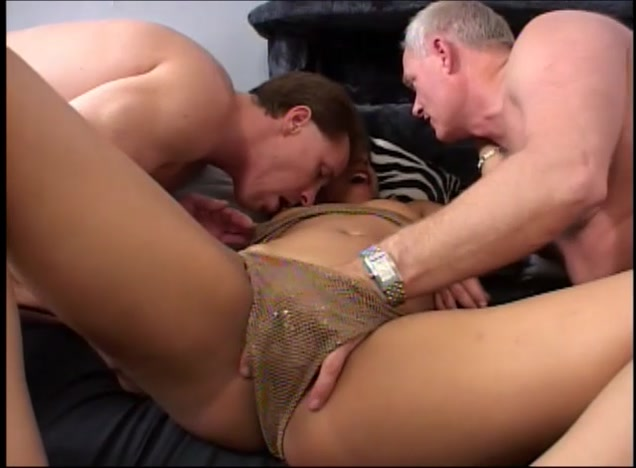 Asian Whore Pleasured By Two Fat Cocks