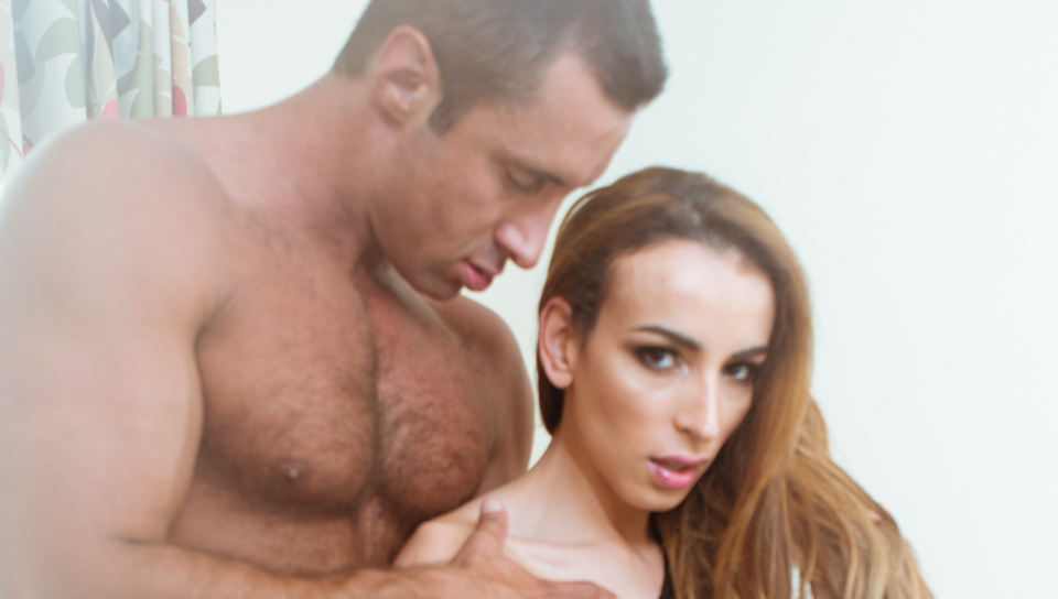 Nick Capra & Savannah Thorne in TS Stepmother - TransSensual
