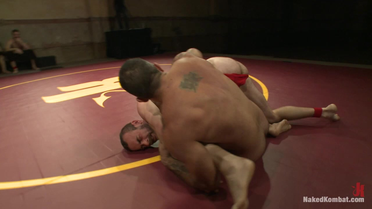 NakedKombat Clayton Pile Driver Kent vs Alessio El Lobo Romero The Hairy Match