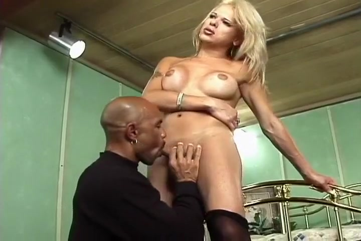 Blond Milf Taking on Black Cock