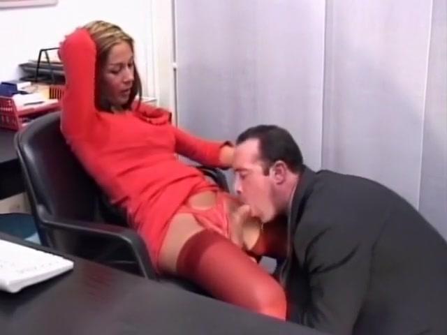 Hot Office Gender Bending Threesome