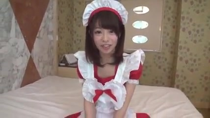 Cute Japanese college girl Creampie