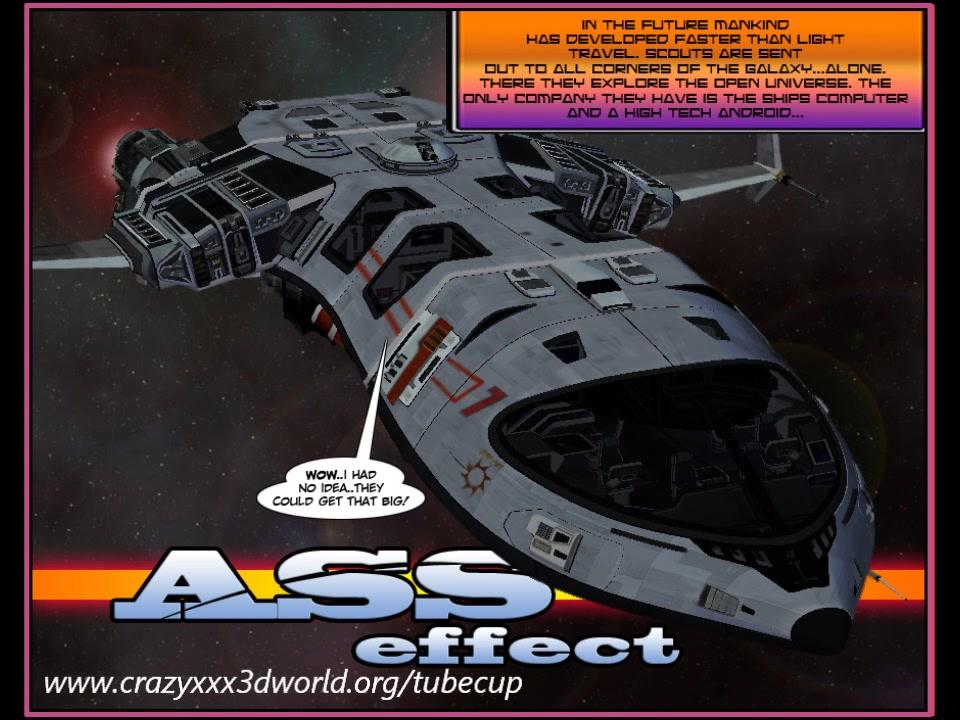 3D Comic: Ass Effect. Episode 2