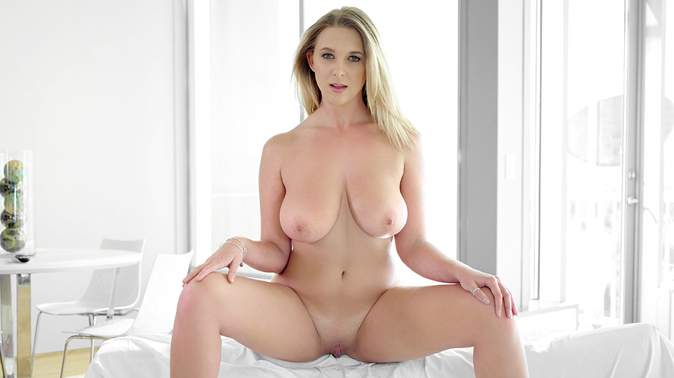 Brooke Wylde in Glistening Wet Double Ds - PassionHD