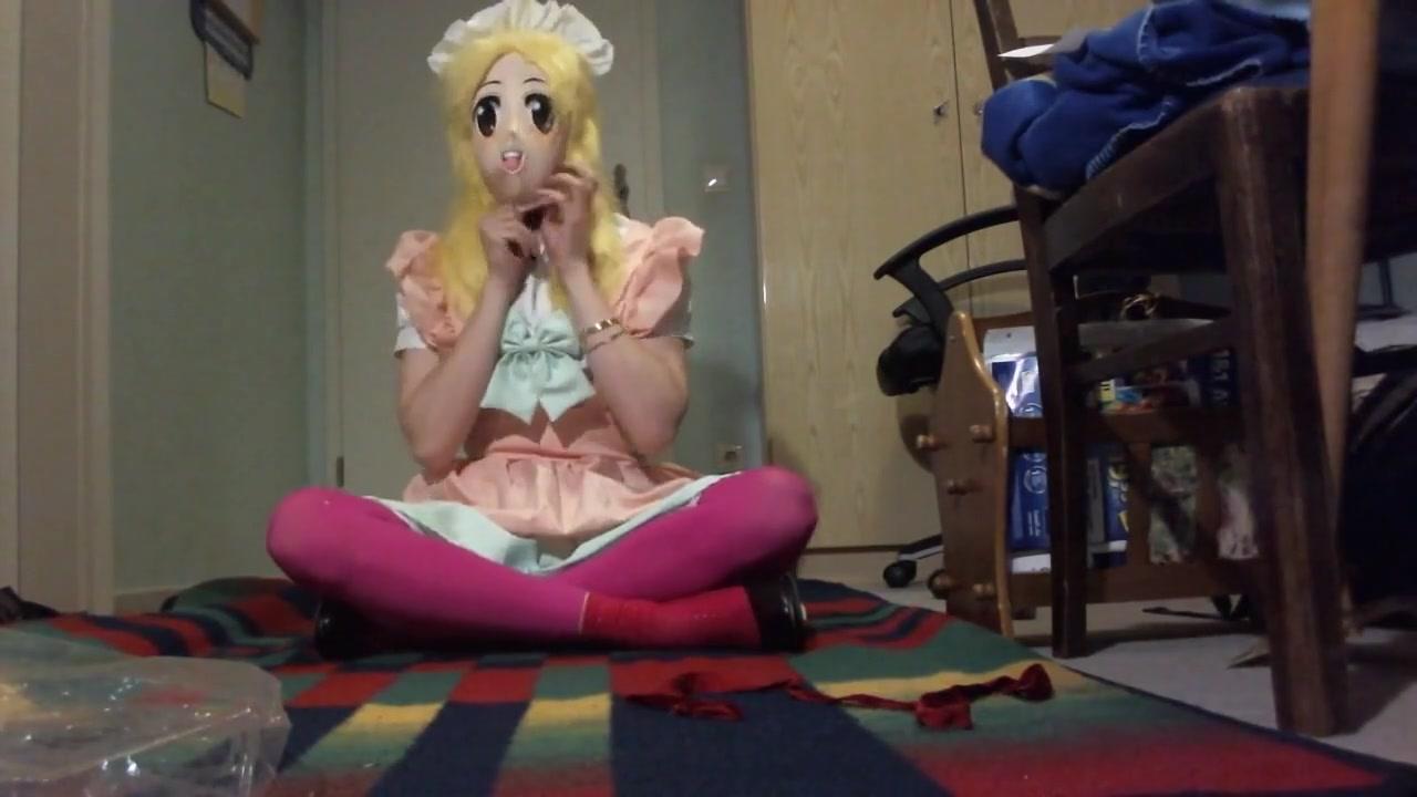 Kigurumi Breathplay Vibrator in Panty (Reupload)
