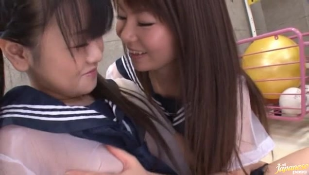 Japanese Av model is a kinky schoolgirl