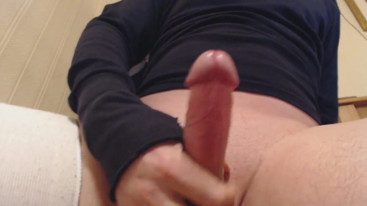 My solo 44 wanking aroused cock to a satisfying cum