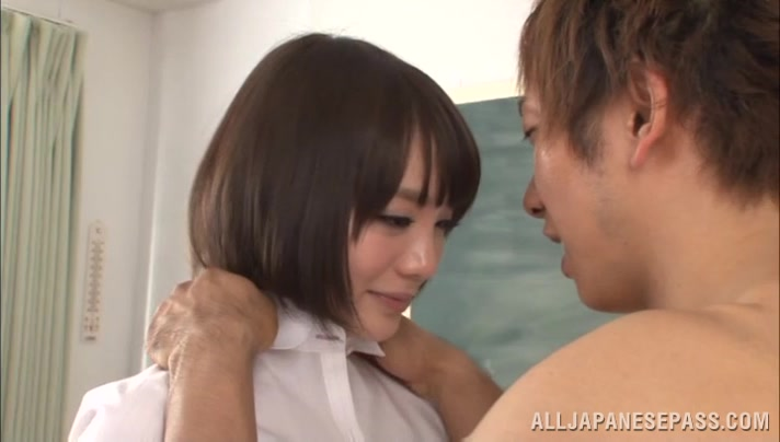 Airi Suzumura Asian teacher gets after school sex special