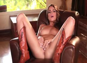 pornstar horny teal conrad in amazing brunette, masturbation xxx movie