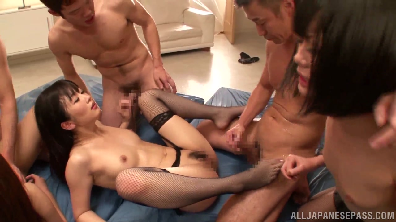 milfs in stockings orgy