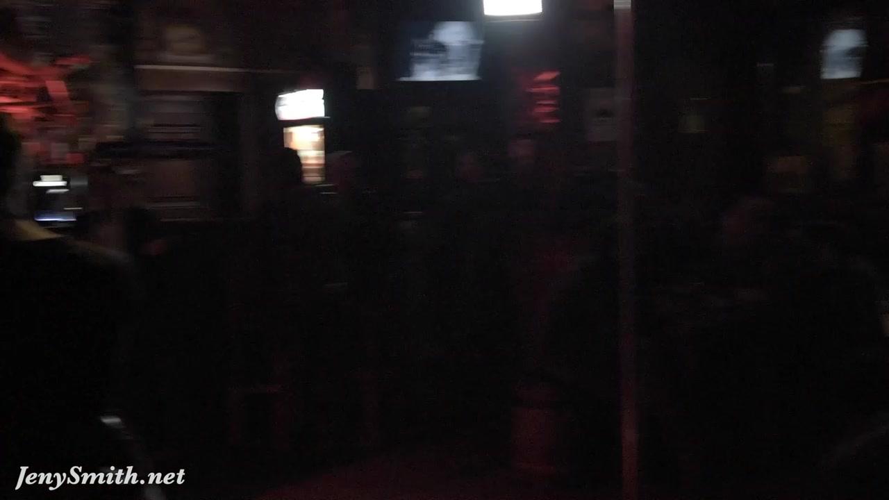 Jeny Smith public naked on stage