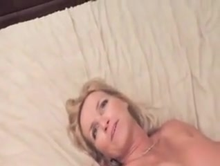 Husband Shares Mature Swinger Wife Then Joins In