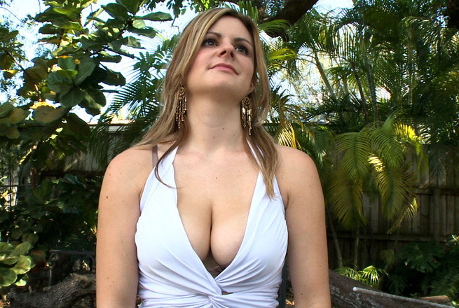Massive natural tits go along with this...
