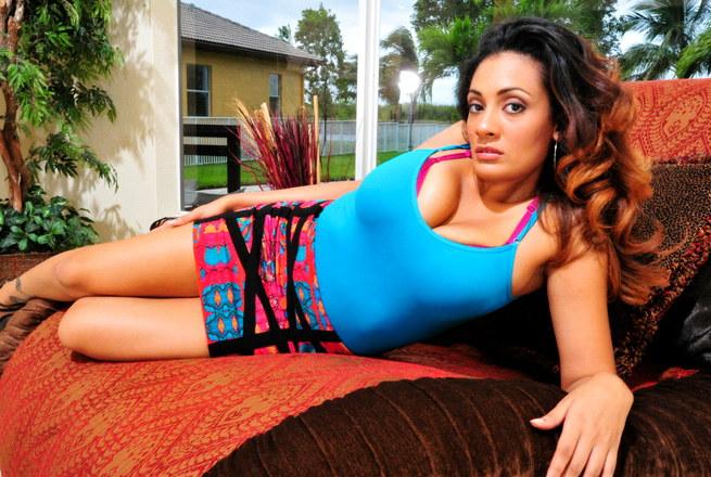 This Latina Has Huge Tits