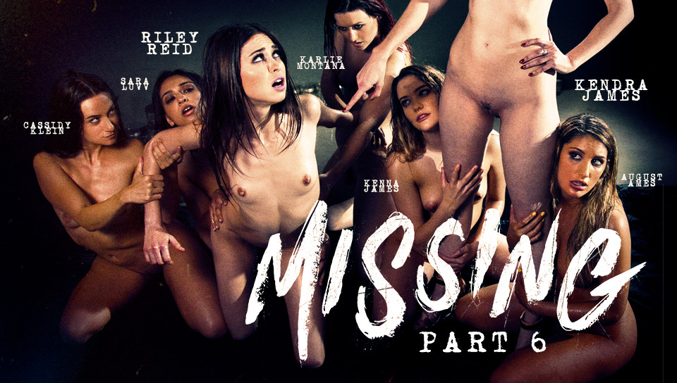 sara luvv & kenna james and august ames in the missing sixth part - girlsway