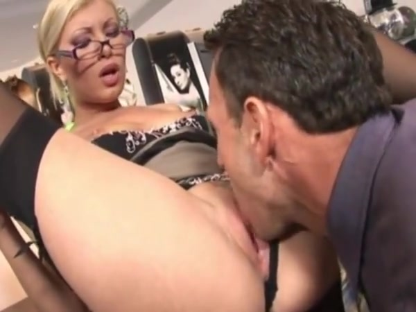 caught with the finger in the pussy, she gets fucked