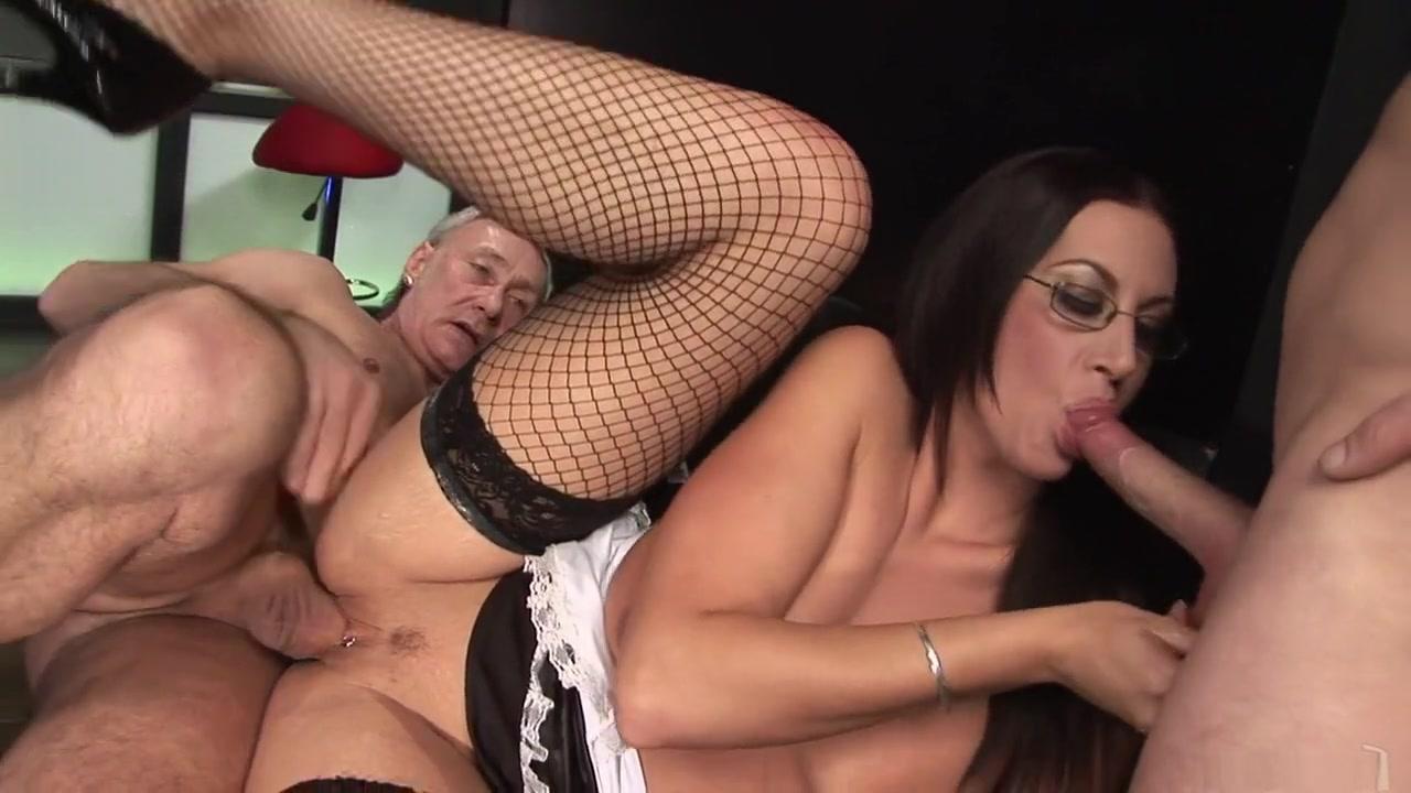 amazing pornstar emma butt in the hottest brunette, threesome xxx