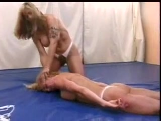 Chubby mature bitch playing BDSM games