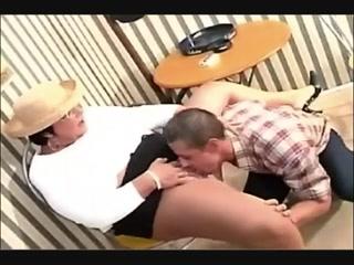 BBW Mature Granny Gets Some Cock