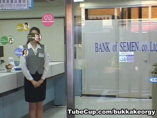 JapaneseBukkakeOrgy: Dream Ticket Bank of Semen