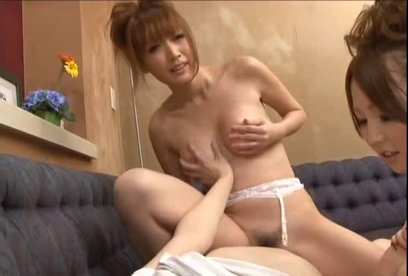 Yuki Mizuho and Karin Asamiya three Goo Pie -=fd1965=-