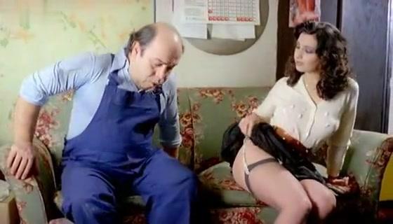 Michela Miti in Vieni Avanti Cretino (1982)