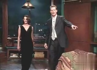 Asia Argento in Late Late Show With Craig Kilborn (TV) (2000)