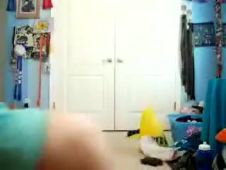 Seductive blonde working her ass
