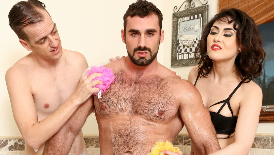 audrey black & chad diamond & jaxton wheeler want to fuck my wife have to fuck me too # 09 - devilsfilm
