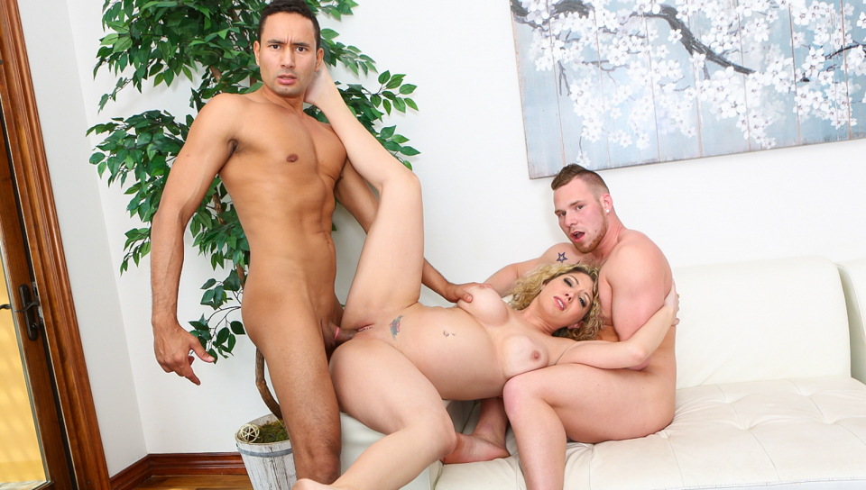 kiki daire and gabriel alessandro and owen michaels in want to fuck my wife have to fuck me too # 10 - devilsfilm