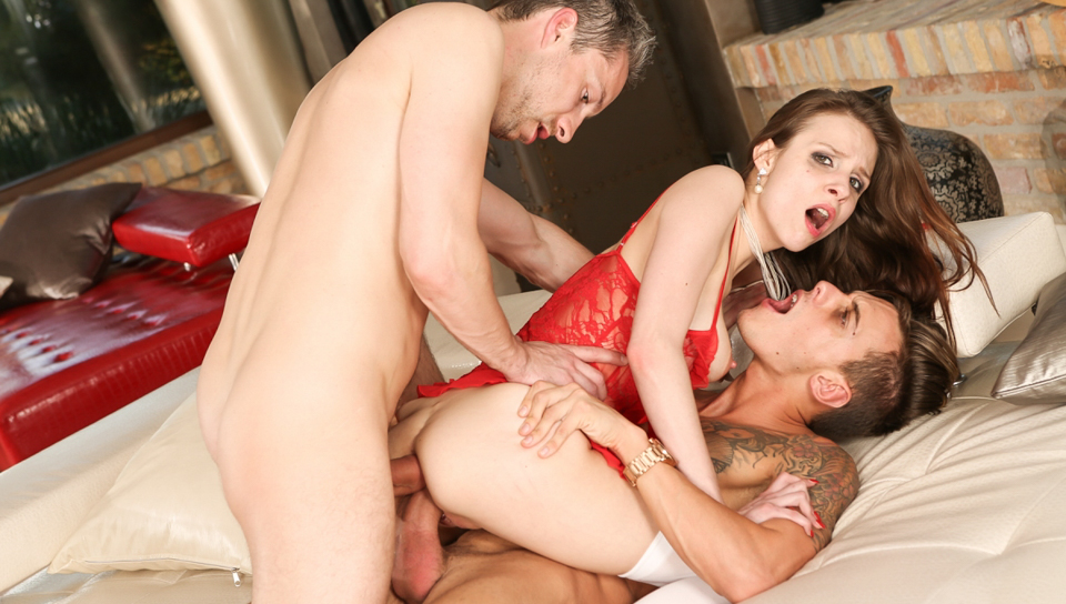 mary wet & chris diamond & lutro & rocco siffredi in 'playing doctor' means anal threesome - roccosiffredi