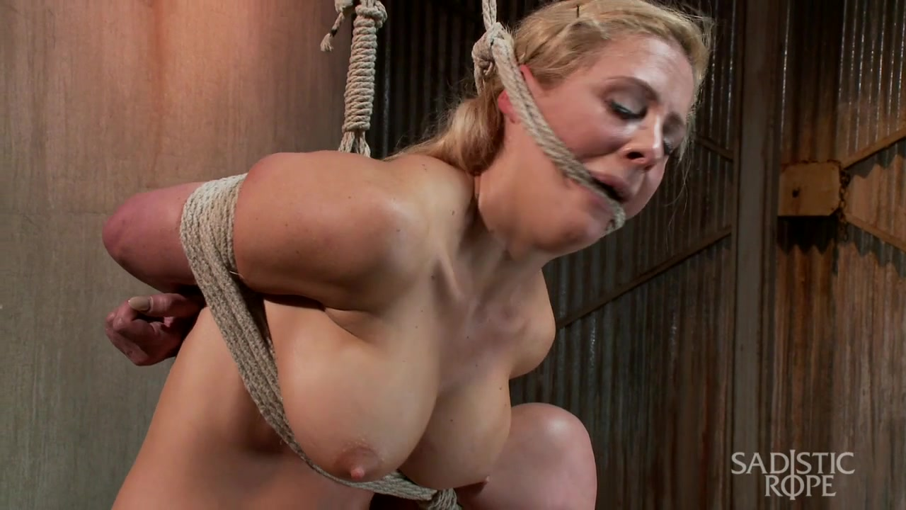 cherie deville hot blonde with big breasts brutal slavery - sadisticrope