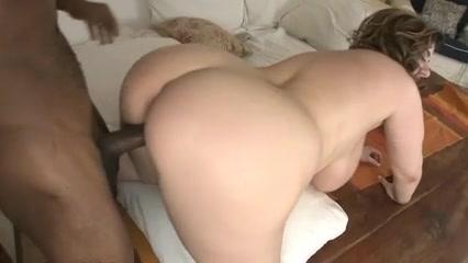 Fat slut Alix enjoys a big black ramrod