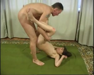 Ass to mouth and anal creampie for a skinny MILF