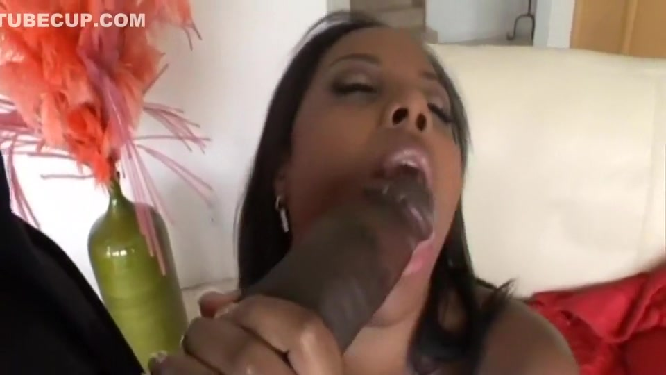 Ebony with large tits fucking with large aggregate