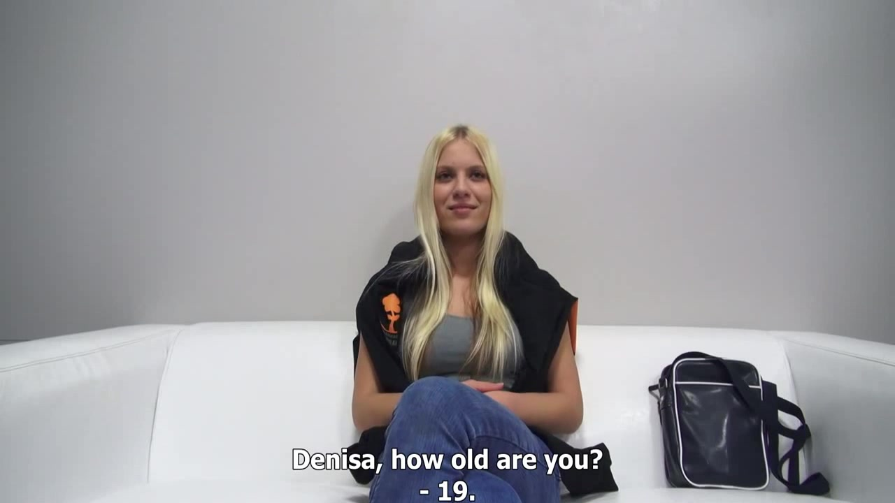 wonderful blonde czech with perky boobs casting by eliman