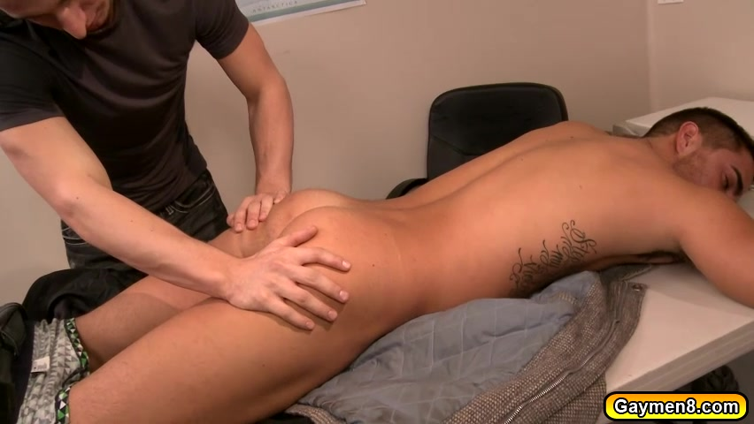 Massage turns into an Anal Fuck