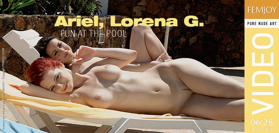 ARIEL, LORENA G. - Fun at the Pool